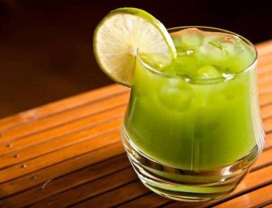 Té verde con hielo