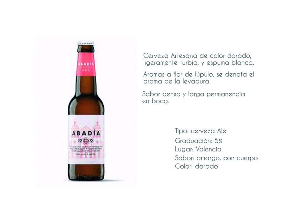 Cerveza Abadia Española