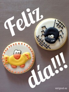 Galletas divertidas animales