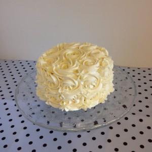Tarta rosas boda
